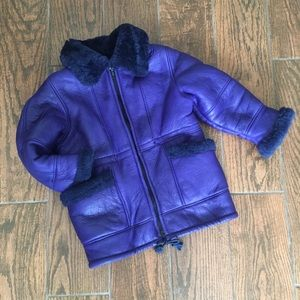 Other - Genuine shearling jacket.